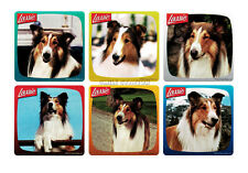 12 Lassie the Dog Stickers Kid Reward Party Goody Loot Bag Filler Favor Supply