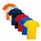 5 Pack of Fruit of The Loom Plain Heavy Cotton T Shirts - Work Casual Leisure