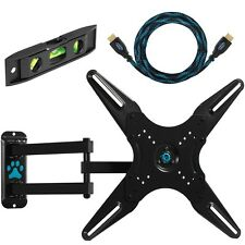 CHEETAH LED LCD HDTV VESA 400 ARTICULATING TV TILT WALL MOUNT BRACKET 27- 55""