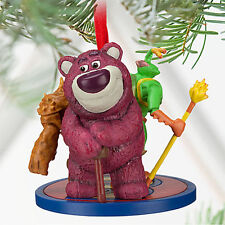 DISNEY CHRISTMAS ORNAMENT Twitch, Chunk, and Lots-o'-Huggin' Bear Sketchbook NEW