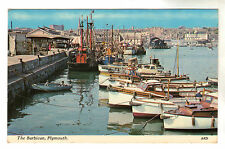The Barbican - Plymouth Photo Postcard c1950s