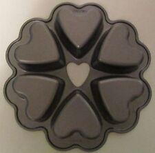 Nordic Ware Heavy Duty Heart Shaped Mini Cakes Pan 6 Cakes FREE SHIPPING