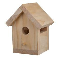 Wood Bird House Kit Pre-Cut Ready-To-Assemble Paintable Party Cub Scout(12-Pack)