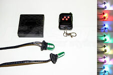 PEUGEOT 307 309 LED Headlight Strobe kit, + Remote, changes colours + pattern