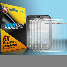 6x Brand New Clear Front LCD Screen Protector Cover for Motorola DEFY MB525