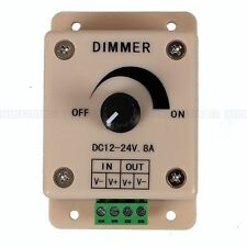 DC12V/24V 8A LED Switch Dimmer Cotroller for 3528&5050 led strip single color