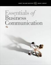ESSENTIALS OF BUSINESS COMMUNICATION 9TH US EDITION LOEWY GUFFEY