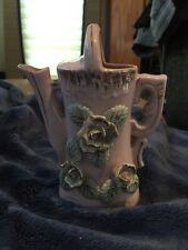 Capodimonte Floral Porcelain Water Can Pitcher Figurine