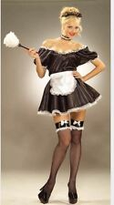 Ladies French Maid Fancy Dress Costume M-L Hen Do Stag Do Party