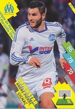 OM-12 ANDRE-PIERRE GIGNAC # SUPERSTAR MARSEILLE CARD ADRENALYN FOOT 2015 PANINI