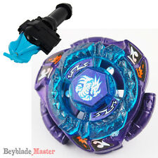 Fusion METAL Beyblade Masters BB128 OMEGA DRAGONIS+BLUE STRING LAUNCHER+GRIP