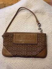 Vintage Coach Leatherware Est.1941 Zip Signature Pouch Wallet