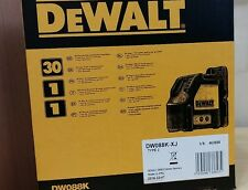 Official DEWALT DW088K-XJ  Cross Line Laser Self-Leveling Measuring Tools