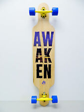"Awaken Drop Thru Downhill/Freeride 9.2"" x 42"" Longboard Complete"