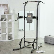 Power Tower Exercise Equipment Pull Up Station Home Gym Bar Workout Knee Raise