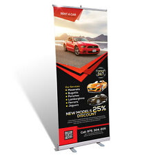 Roll Up Display - 85 x 200 - inkl. Digitaldruck [ Roll-Up Banner Kundenstopper ]