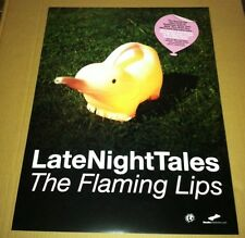 Flaming Lips 2005 Retail Promo Poster For Late Night Tales Cd Mint Usa 18 x24