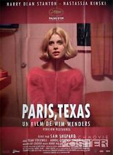 PARIS TEXAS - WIM WENDERS / NASTASSJA KINSKI - REISSUE LARGE FRENCH MOVIE POSTER