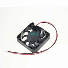 5V 2Pin ph2.0 5cm 50mm 50x10mm Mini DC Brushless Computer Cooling Fan 9 Blades