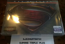 MAN OF STEEL LIMITED EDITION SET (3D BLU-RAY + DVD + BLU-RAY) METAL S GLYPH