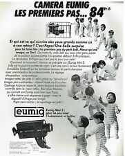 Publicité Advertising 1989 Camera Eumig Mini 3