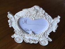 Job Lot Wedding Place Name Card Holders, Carriage Frame 10 Pieces