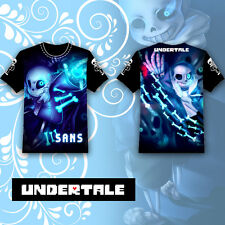 Anime Undertale Sans Papyrus T-shirt Tee Tops Summer Cosplay Costume Otaku COOL