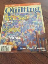 Fons & Porters Love Of Quilting Magazine March/April 2004