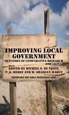 Governance and Public Management: Improving Local Government : Outcomes of...
