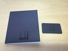 Booklet + Certificate Card - ALFRED DUNHILL - Precious Metal Jewellery