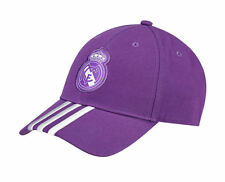 Adidas Hat Unisex Purple Real Madrid A 3S Fashion Sporty Training Cap New 2016