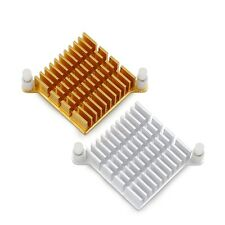 2 Pieces Aluminum 40x40mm Heatsink For PC Northbridge Cooling Hole Pitch 60mm
