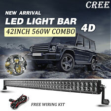 "42"" 560W CREE COMBO LED LIGHT BAR OFFROAD TRUCK Driving Lamp SUV ATV 4x4 4W"