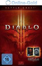Diablo 3 Battle Chest - Battlenet Code D III Battlechest Key - PC MAC NEU DE/EU