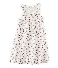 GIRLS WHITE DRESS WITH LADYBIRD PRINT   AGE 6-8 YEARS BNWT