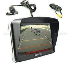 """7"""" inch Car GPS Navigation Bluetooth AV-IN+Rearview Camera+Sunshade 4GB New Map"""