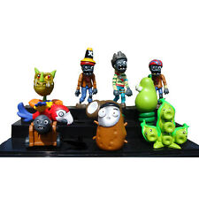10 x Plants vs Zombies Action Figures Set Toy Threepeater Cake Topper Decor Gift