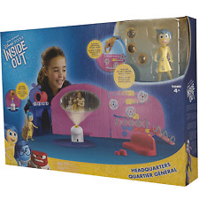Tomy Disney Pixar INSIDE OUT Headquarters Playset inc Joy fig + 3 memory spheres