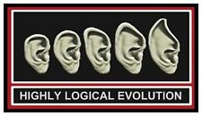 Fridge Magnet: HIGHLY LOGICAL EVOLUTION (Funny Star Trek / Spock Humor)
