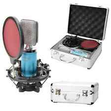 New Professional Blue Condenser Microphone Mic Broadcasting Recording