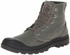 Palladium Mens Pampa Hi Canvas Boot,Stonewash Metal,9 M US