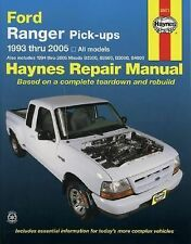 Ford Ranger and Mazda (B-Series) Pick-Ups Automotive Repair Manual by Eric...