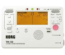 Korg TM50 Tuner & Metronome for Guitar & Bass - Like having MA-1 & CA-1 together