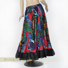 Gypsy Flamenco Belly Dance 720 Degree Circle Open Big Skirt Costume Newest