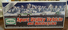 2004 Hess Sport Utility Vehicle and Motorcycles Brand New in Box 40 Anniversary