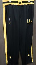 Los Angeles Lakers Nike Black Warm Up Pants Size 57 XX-Large NBA