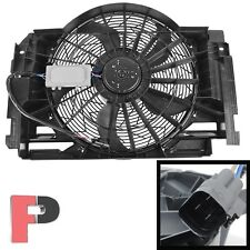 AC Radiator Condenser Cooling Pusher Fan 5 Blade fit 00-06 BMW X5 64546921381