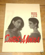 CHRIS MOIRA ~ EUROVISION SONG CONTEST PROMOTIONAL PROMO PRESS PACK 1994