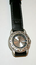 Rare Men's Boy London Fish Eye Day / Date Watch New NOS 1990s