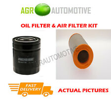 DIESEL SERVICE KIT OIL AIR FILTER FOR IVECO DAILY 35C12 2.3 116 BHP 1999-06